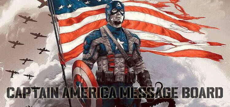 Captain America Message Board