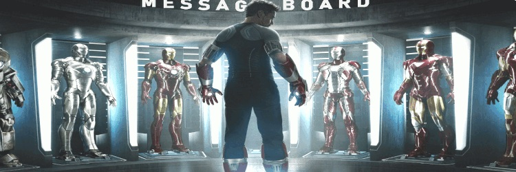 Iron Man Message Board